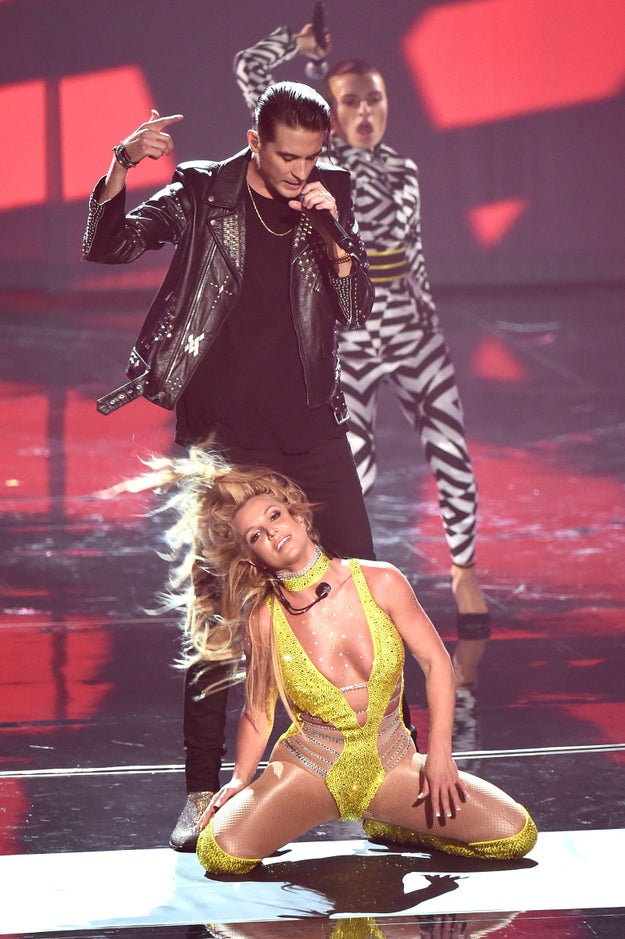 65. Made her triumphant return to the VMA stage.