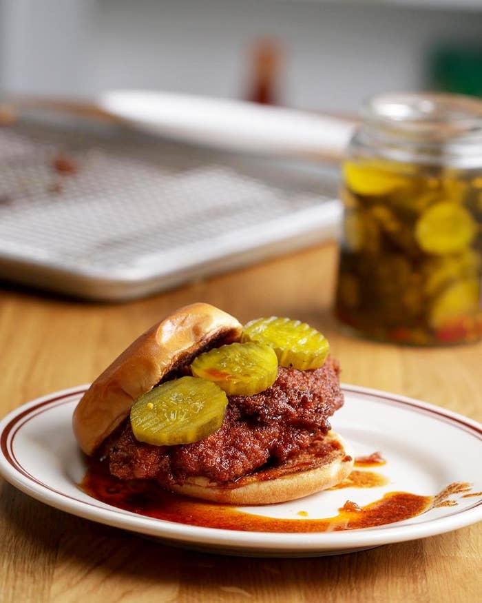 Nashville Hot Chicken As Made By Spike Mendelsohn Tastystory