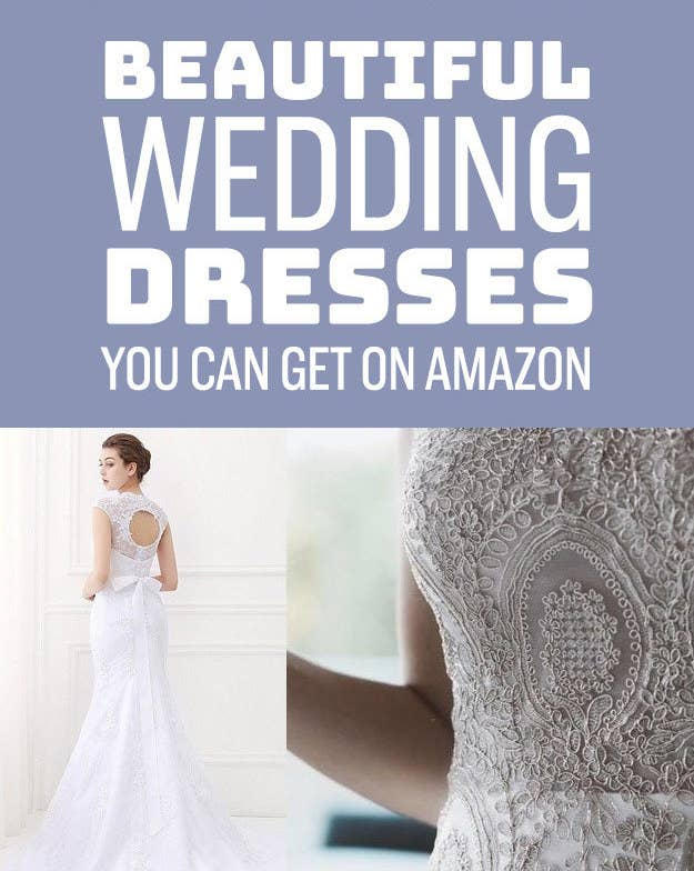 20 gorgeous wedding dresses you wont believe you can get on amazon we hope you love the products we recommend just so you know buzzfeed may junglespirit Images