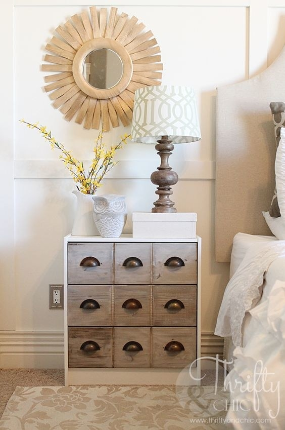 Turn your dresser into a library catalog look-alike that you'll want to stare at all day.