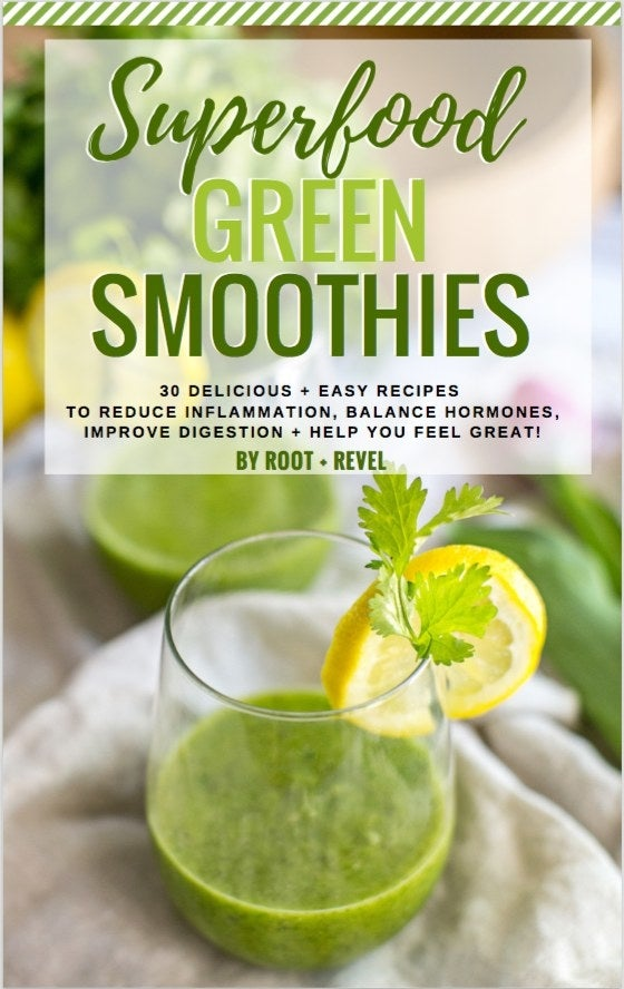 30 indulgent and healthy superfood green smoothies that reduce inflammation, enhance weight loss, improve digestion, and so much more. Made with plant-based ingredients and whole fruits and veggies, these smoothies will help you kickstart a healthier lifestyle - and bonus, some even resemble dessert (think chocolate and pumpkin pie). Get it here.