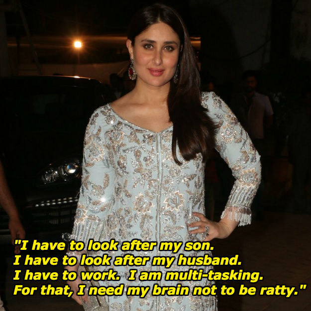 Basically, Kareena doesn't have time for trolls because she's too busy living her best life.