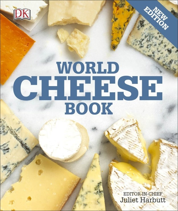 This book will teach you how to enjoy all kinds of cheese.