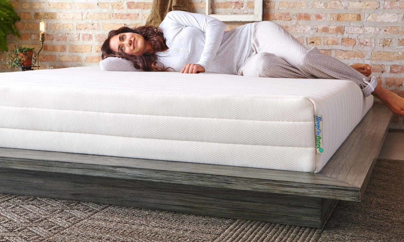 sleep on latex mattresses are 100 natural latex and are certified and tested for harmful substances