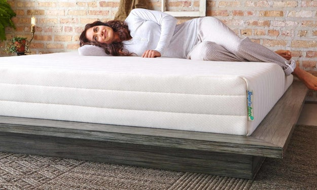 Sleep on Latex mattresses are 100% natural latex and are certified and tested for harmful substances.