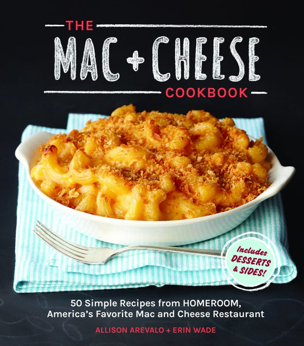 This book of amazingly cheesy recipes will keep you fed.