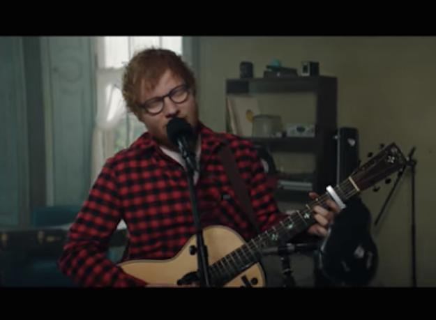 Ed Sheeran's New Love Song