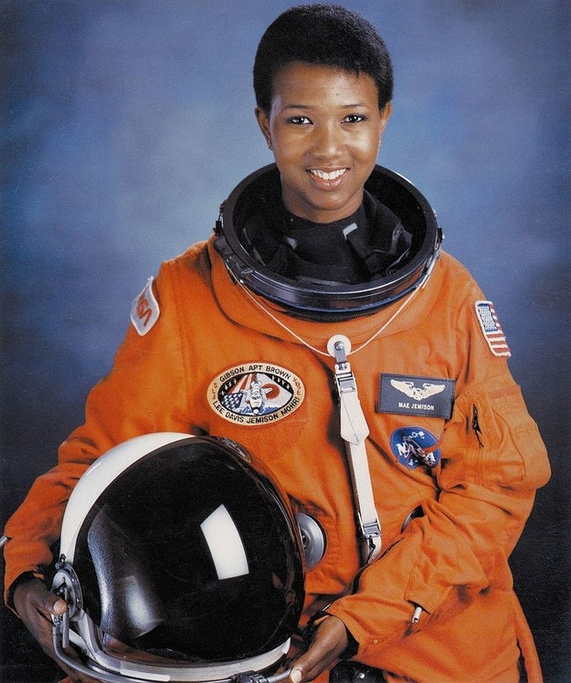 Dr. Mae Jemison: the physician and engineer who also became the first black female astronaut in NASA history.