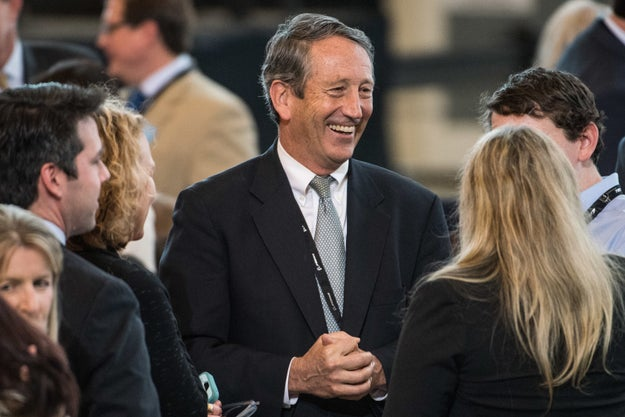 As Many Republicans Avoid Testy Town Halls, Mark Sanford Hosts A Marathon Event With Protesters