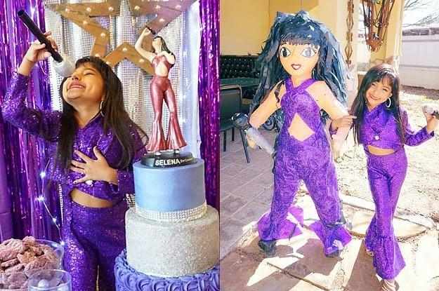 This Girl S Selena Themed Birthday Party Is The Definition