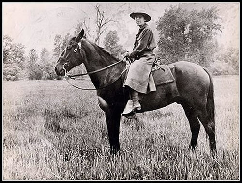 The NPS first hired female park rangers in 1918, just two years after it was founded.