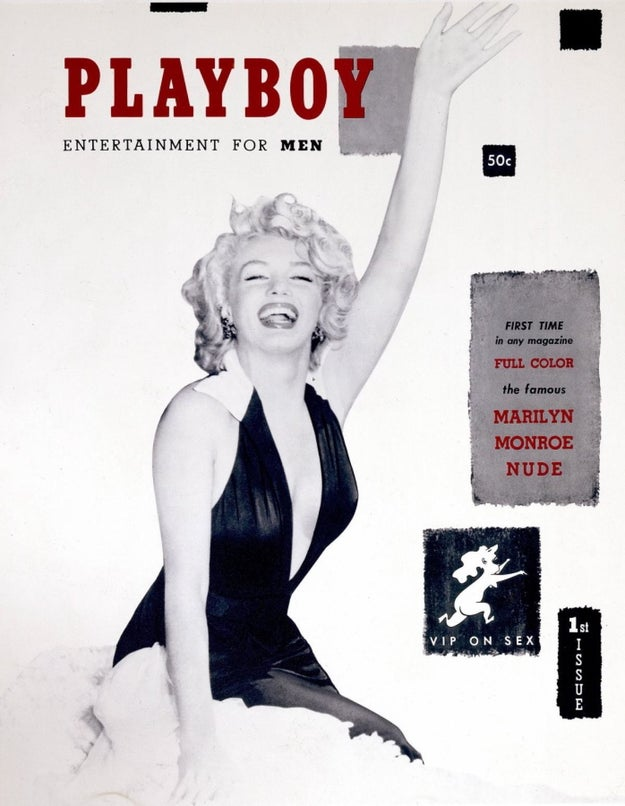 You miiiight have heard of Playboy. It's a magazine that's been around for a gobsmacking 63 years!