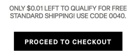 When you're just a few bucks (or sometimes cents) away from free shipping BUT can't find one more thing you want.