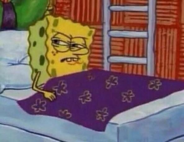 When you plan to sleep in but end up waking up early anyways and can't go back to sleep.