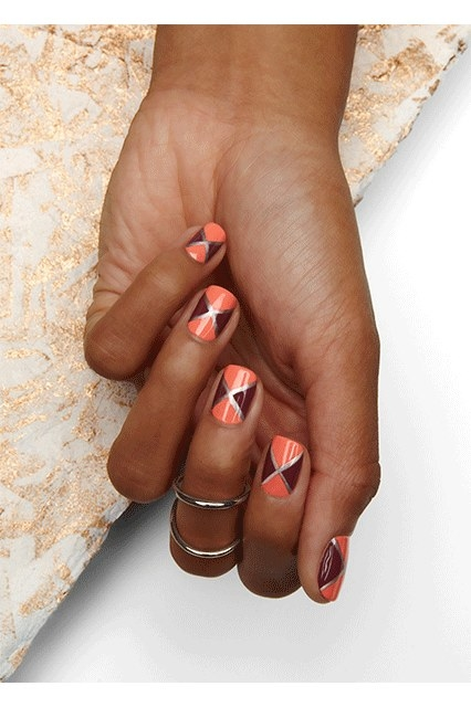 These nail designs that look just a little too challenging.