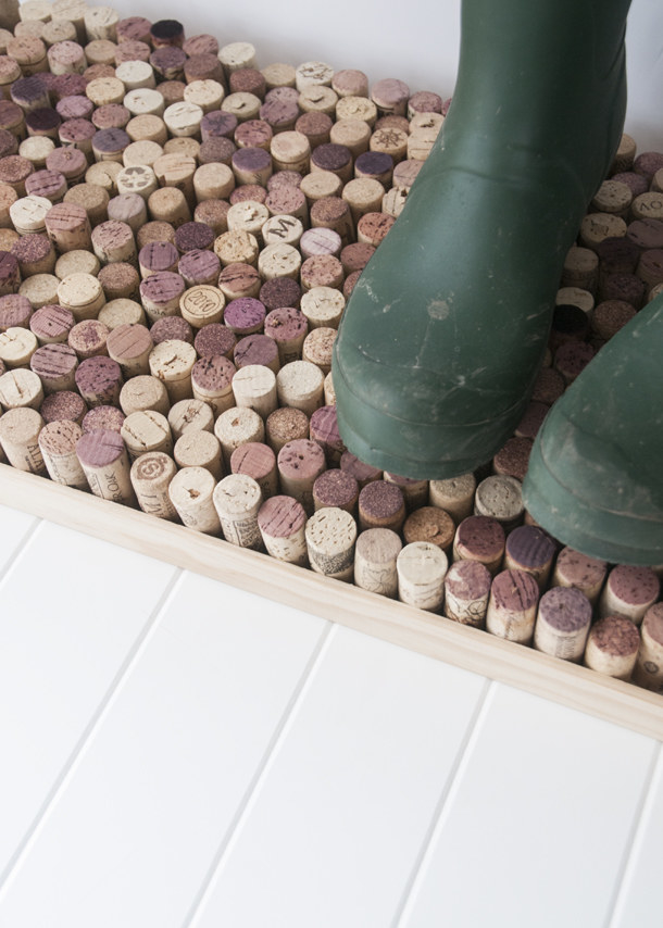 This wine cork boot tray because you and your friends haven't had enough wine nights to build up a cork collection.