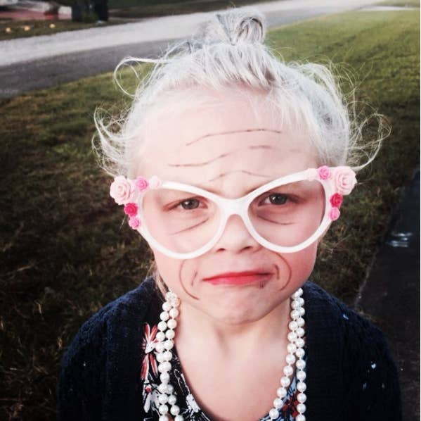 These Kids Dressed Up As 100 Year Olds Are Too Cute To Handle