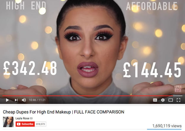 You live for budget makeup tutorials.