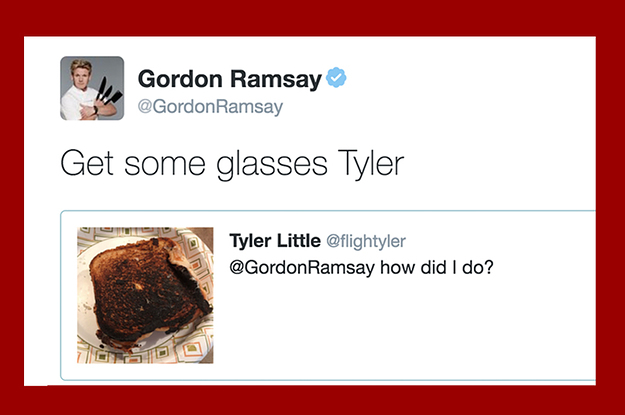 gordon ramsay has spent the entire weekend roasting people s food