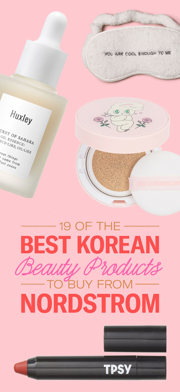 27 Best K-Beauty Products From Nordstrom's Pop-Up BeautyShop