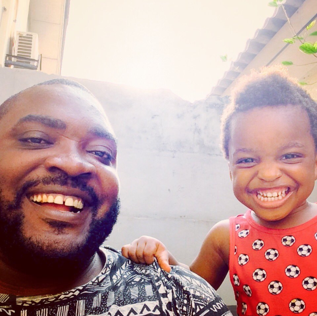 Meet Imoh Umoren and Imoh Umoren II, a father and 2-year-old son in Lagos, Nigeria.