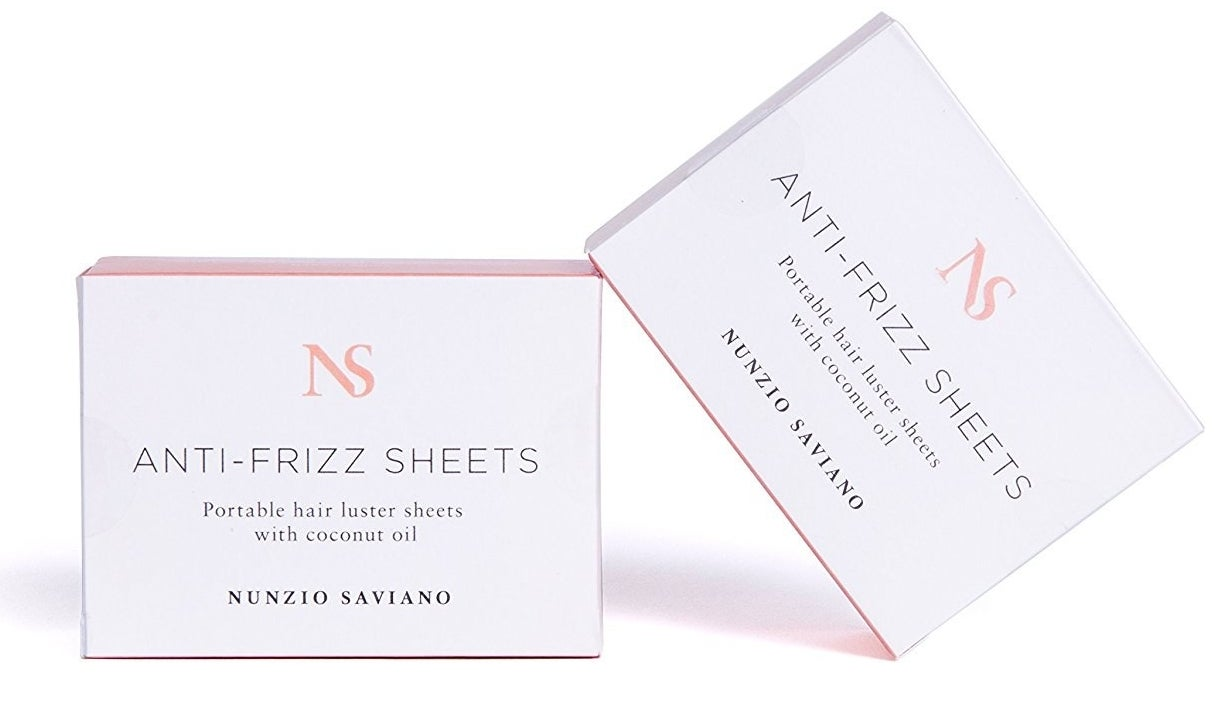 Fight frizz on the go with these moisturizing and static-killing sheets.