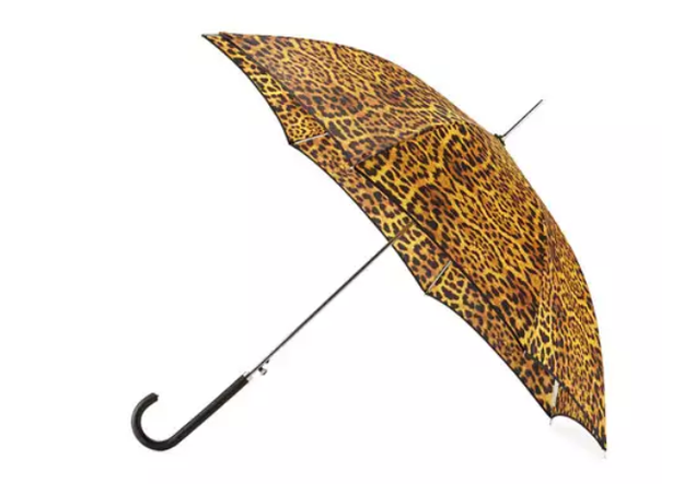 A ferocious animal print umbrella for cool cats.