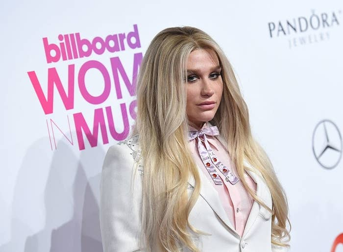 Kesha attending the Billboard Women on Dec. 9, 2016, in New York City.