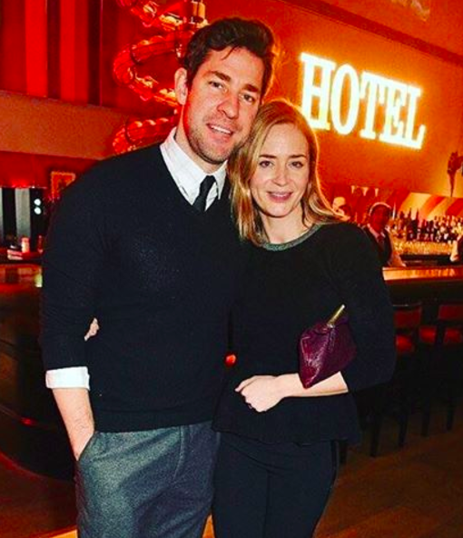 And trying to contain your laughter after spending a day with Emily Blunt and John Krasinski would be just as challenging.