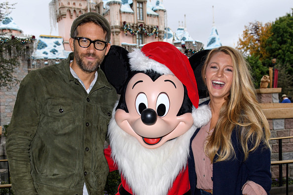 How about visiting Disney with Ryan Reynolds and Blake Lively to channel your inner-child?