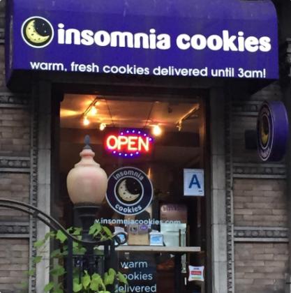 Esta panadería que ofrece galletas calientes recién hechas hasta las tres de la mañana.