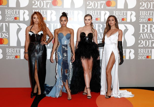 So tonight it's the Brit Awards, and yes, Little Mix have absolutely slayed from the start.