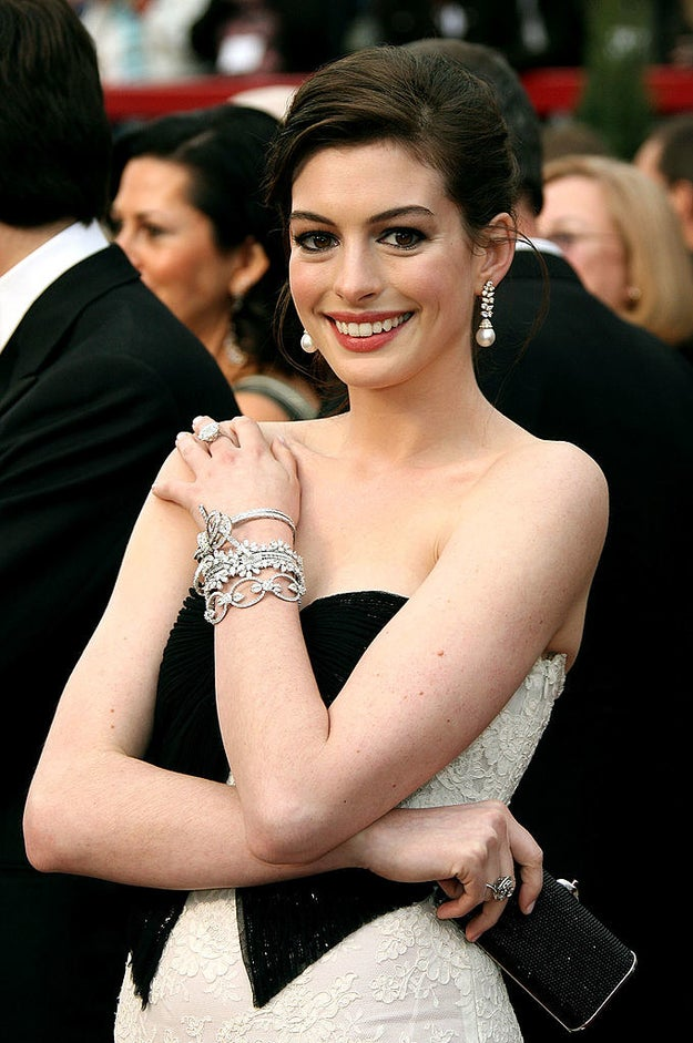 Anne Hathaway was still six years away from winning her Oscar.