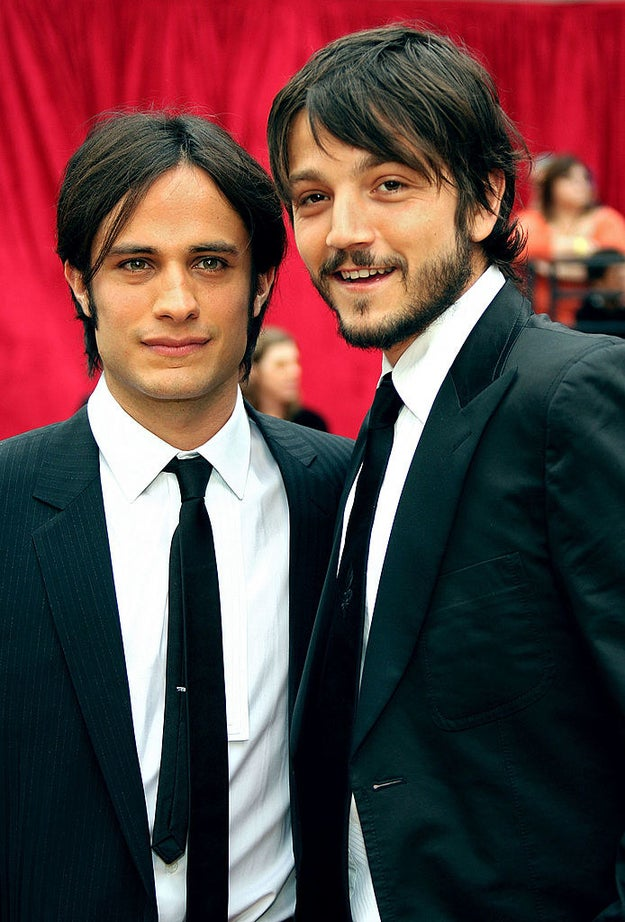 BFFs Gael García Bernal and Diego Luna both looked dashing.