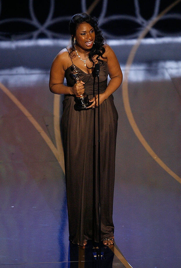 Jennifer Hudson won Best Supporting Actress for her performance in Dreamgirls.