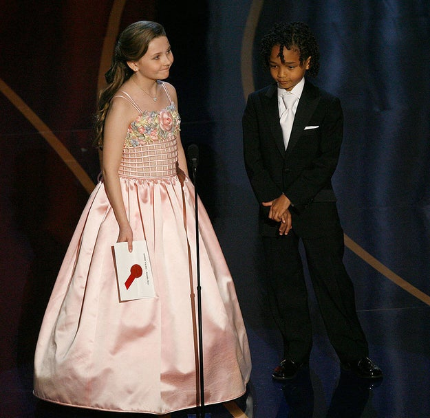 Abigail Breslin and Jaden Smith were adorable presenters.