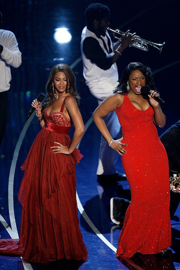Beyoncé and Jennifer Hudson performed a melody from Dreamgirls — which, with eight nominations, was the most nominated movie of the year.
