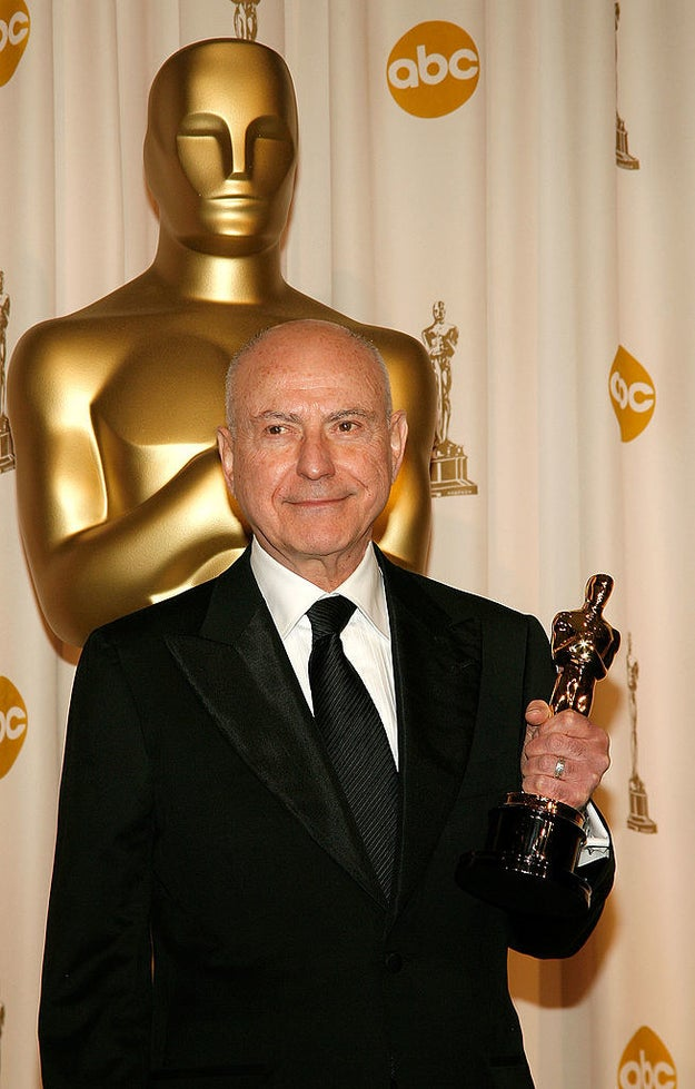 Alan Arkin won Best Supporting Actor for his performance in Little Miss Sunshine.