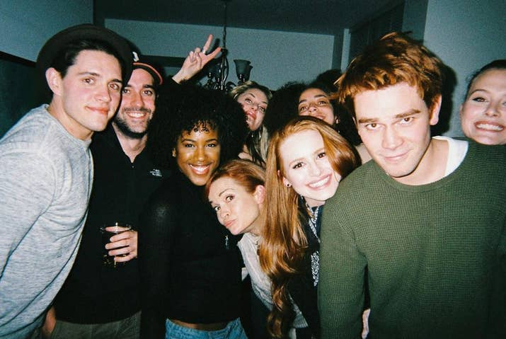 27 times the riverdale cast were completely adorable irl 1 when the squad took this adorable group photo m4hsunfo Images