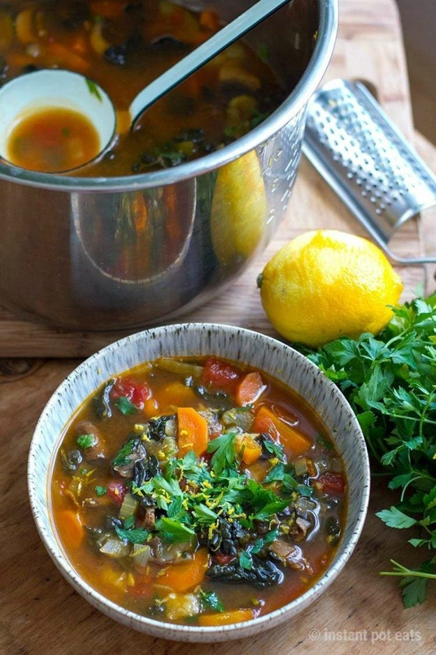 Italian Farmhouse Vegetable Soup