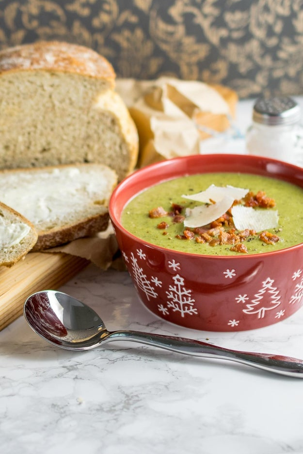 Instant Pot Broccoli and Bacon Soup