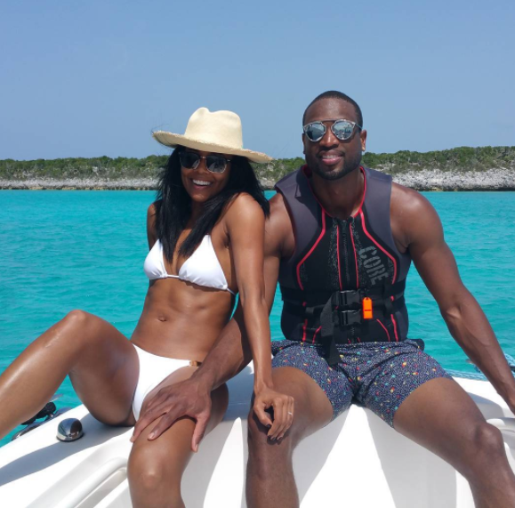Picture traveling around the islands with Gabrielle Union and Dwyane Wade, and ending the evening with a fun game of HORSE.