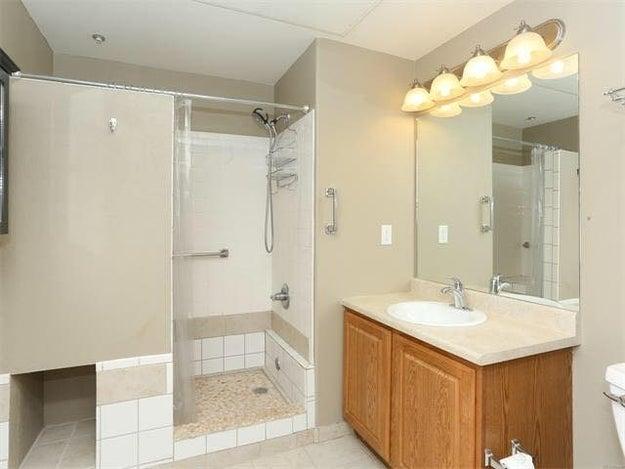 This very basic bathroom...