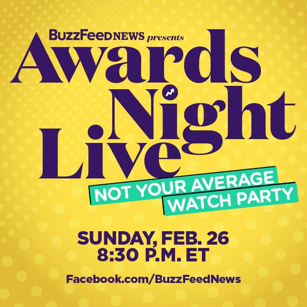 You can play along with us on BuzzFeed News' Facebook page and at home during your own watch party.
