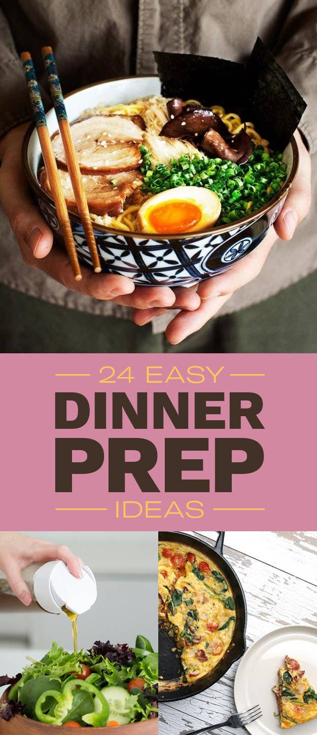 24 easy dinner prep ideas youll want to try asap we hope you love the products we recommend just so you know buzzfeed may forumfinder Choice Image