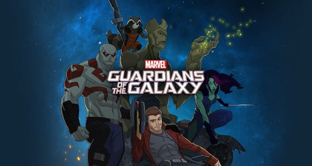Guardianes de la galaxia - Temporada 1.
