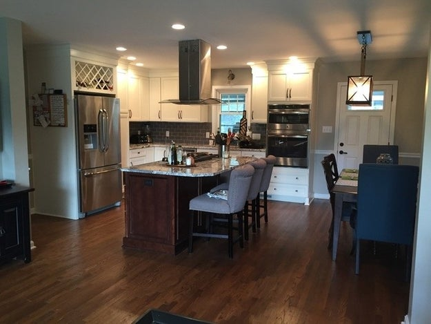 ...that was remade into an open-concept kitchen with all the modern amenities.