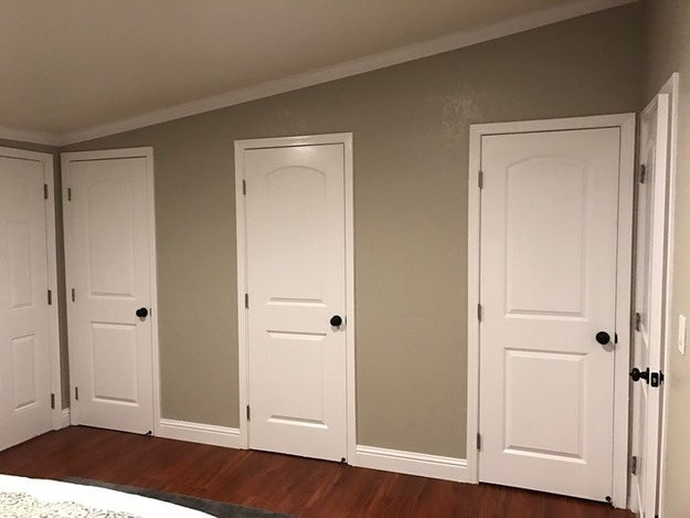 These awkwardly placed closets...