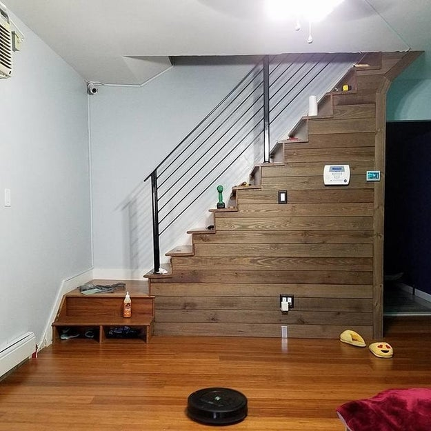 ...that stepped up its game and became a totally unique staircase.