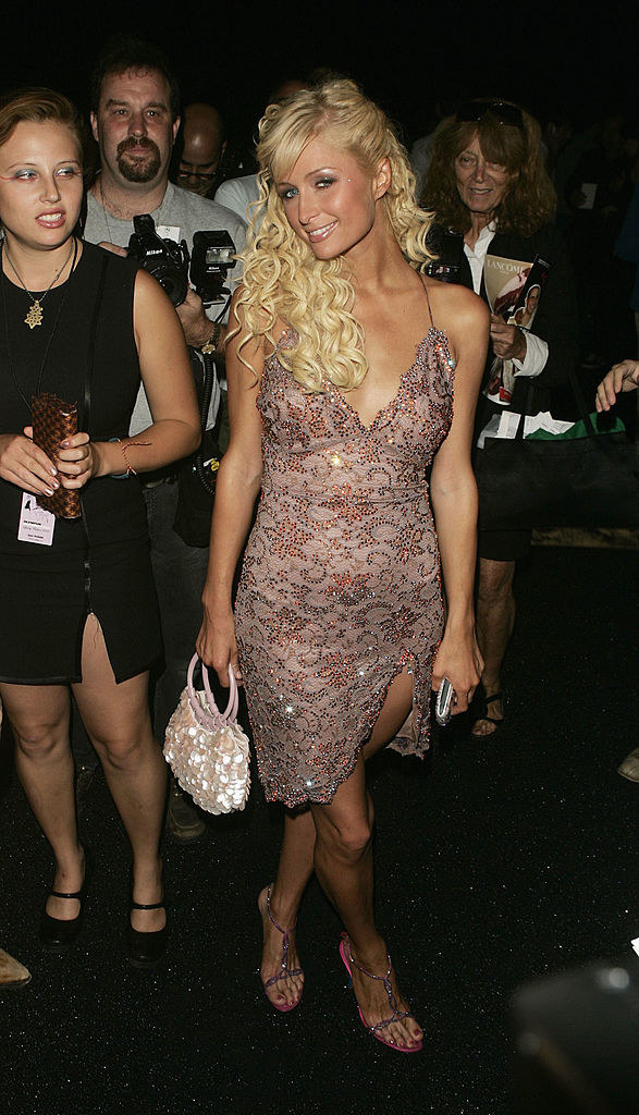 Paris Hilton's literal clam: